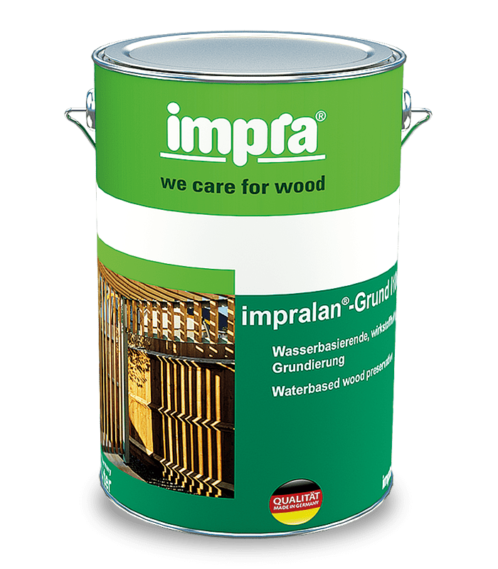 Impra Lan Grund i100 Грунт-пропитка на водній основі з вмістом активних компонентів грунт пропитка водная основа Impra i100 захистна защитная