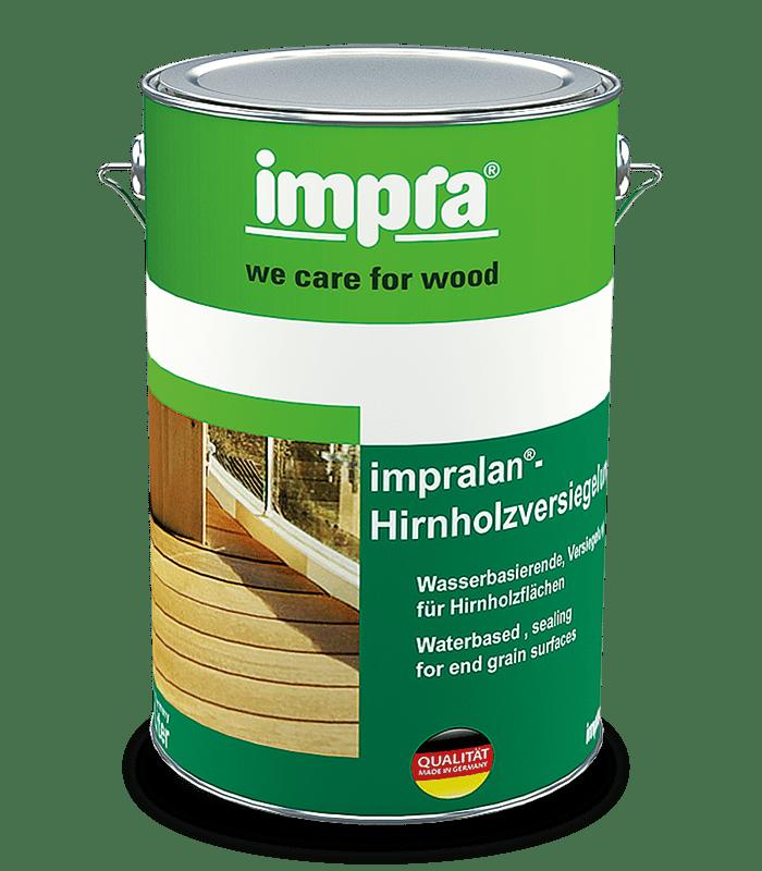 Impra Lan Hirnholzversiegelung Засіб для захисту торцевої поверхні деревини від проникнення вологи