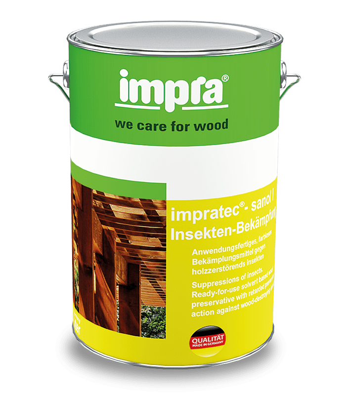 Impra Tec Sanol IB захистний засіб для боротьби з дереворуйнуючими комахами