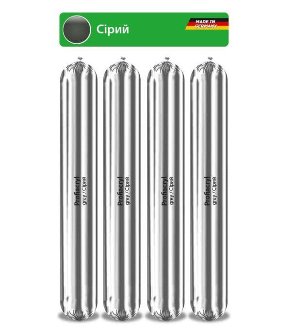 Profiacryl Grey професійний шовний акриловий герметик преміум класу