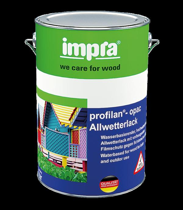 Profilan-Opac Погодостійка акрилова фарба лак для дерева і деревини захисна плівка для попередження появи плісняви і водоростей