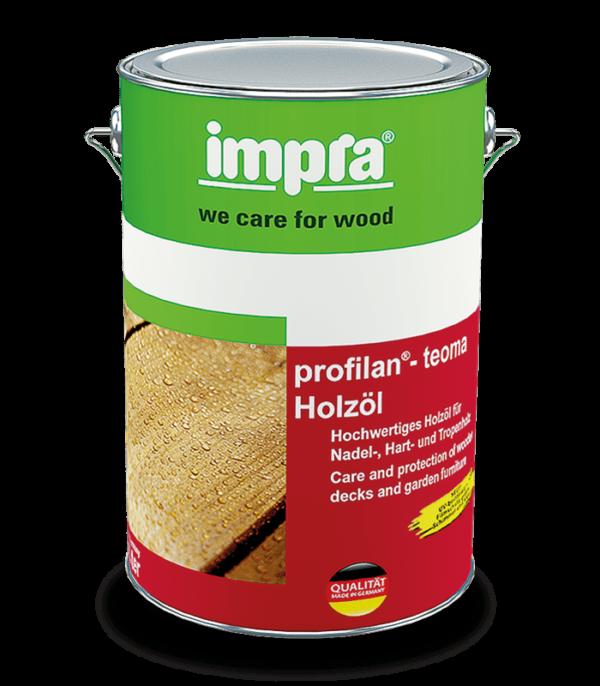 олія profilan® teoma використовується для захисту та догляду за дерев'яними поверхнями для саду, садових меблів