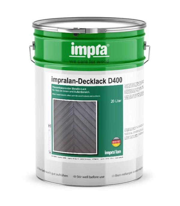 impra lan Decklack D400 металлический ефект с защитой MAX