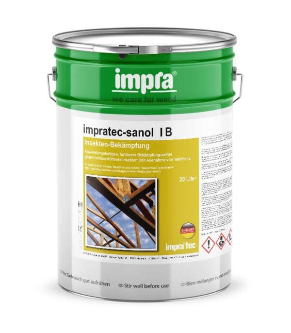 Захистний засіб для деревини impra tec Sanol I IB боротьба з дереворуйнуючими комахами