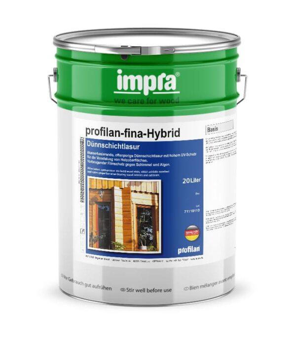 profilan Fina Hybrid - тонкошарова захисна лазур для дерева