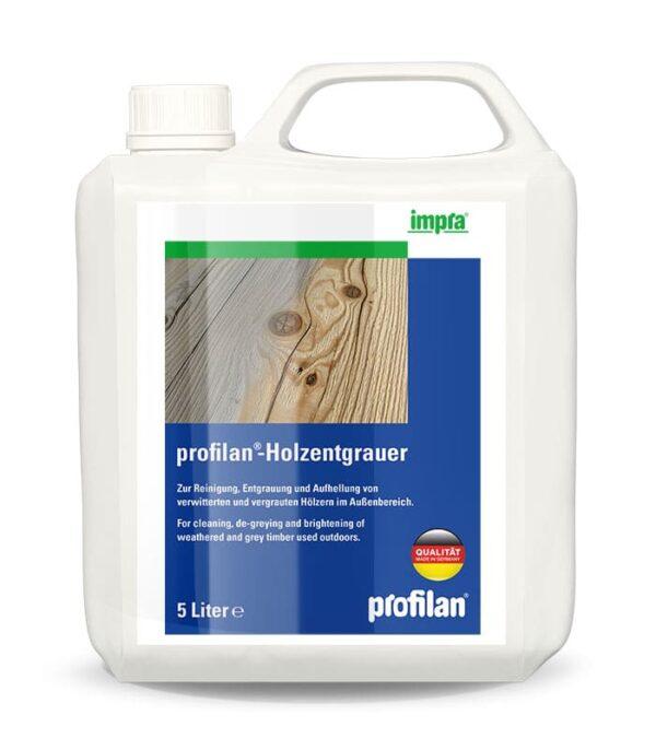profilan Holzentgrauer - для очищення дерева і усунення посіріння