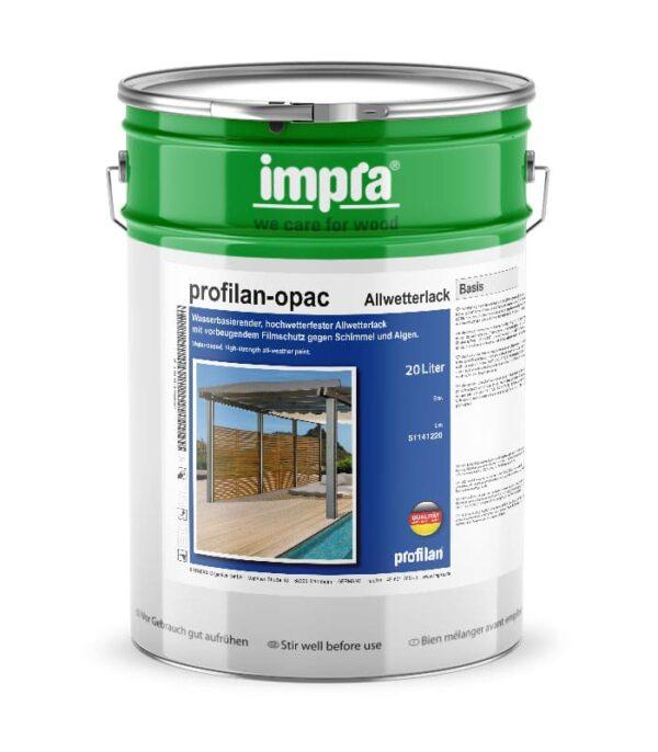 profilan Opac Metalic погодостійка акрилова фарба на водній основі з ефектом металік