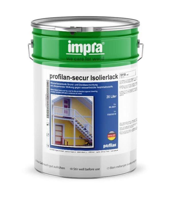 profilan Secur - захистна ізолююча акрилова фарба для деревини