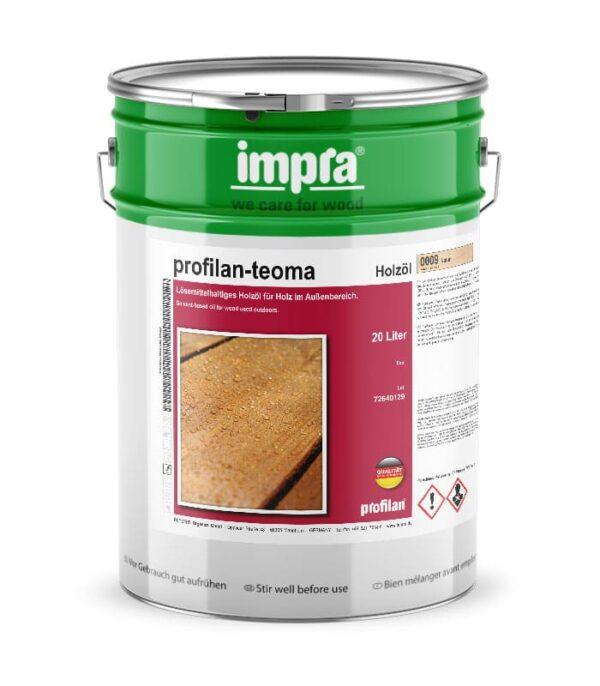 Profilan Teoma - натуральное масло для дерева и древесины